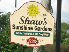 To the Establishment of Shaw's Sunshine Gardens